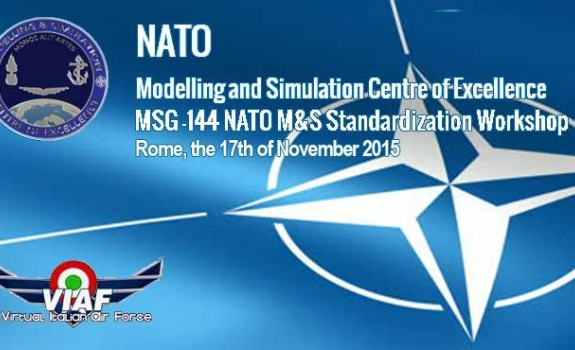 VIAF partecipa al NATO M&S Standardization Workshop